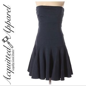 See by Chloe | Navy Strapless Fit Flare Dress